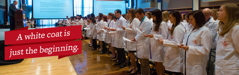 A white coat is just the beginning