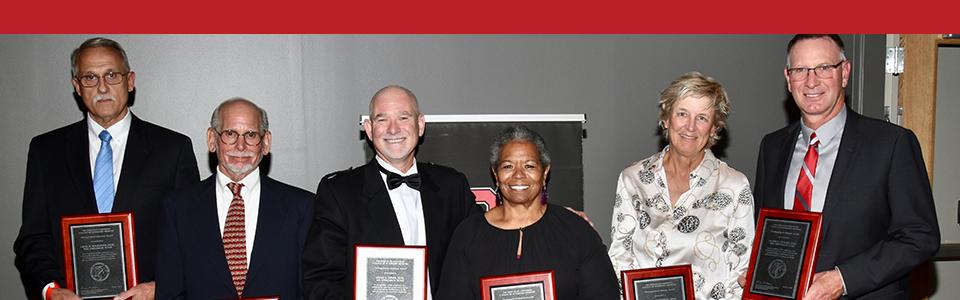 six Distinguished Alumni