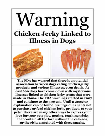 Chicken Warning