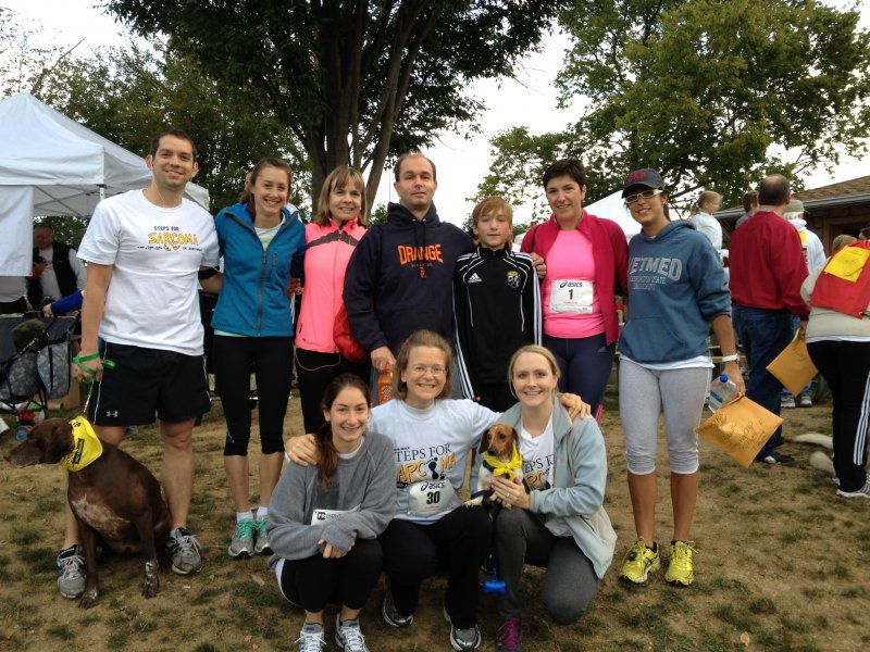 Steps for Sarcoma Team 2012